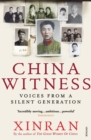 Image for China witness  : voices from a silent generation