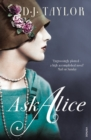 Image for Ask Alice  : a novel