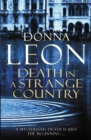 Image for Death in a Strange Country : (Brunetti 2)