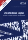 Image for Life in the United Kingdom: Official practice questions and answers