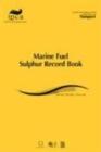 Image for Marine fuel sulphur record book