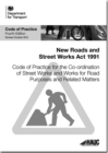 Image for Code of practice for the co-ordination of street works and works for road purposes and related matters