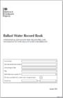 Image for Ballast water record log book