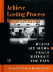 Image for Achieve Lasting Process Improvement