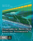 Image for Programming massively parallel processors  : a hands-on approach