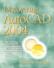 Image for Discovering AutoCAD 2004