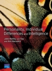Image for Personality, individual differences and intelligence