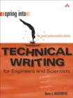 Image for Spring into technical writing  : for engineers and scientists