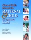 Image for Maternal-Newborn and Child Nursing : Clinical Skills Manual
