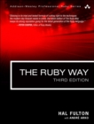 Image for The Ruby way: solutions and techniques in Ruby programming