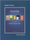 Image for Study Guide for Accounting, Chapters 1-15 (Financial Chapters)