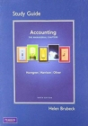 Image for Study Guide for Accounting, Chapter 14-24 (Managerial Chapters)