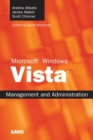 Image for Microsoft Windows Vista: management and administration