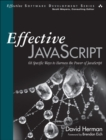 Image for Effective JavaScript: 68 specific ways to harness the power of JavaScript