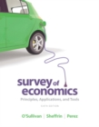 Image for Survey of economics  : principles, applications, and tools
