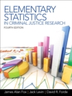 Image for Elementary statistics in criminal justice research