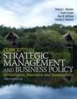 Image for Concepts in strategic management and business policy