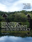 Image for Strategic management and business policy  : toward global sustainability