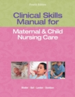 Image for Clinical skills manual for maternal & child nursing care