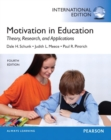 Image for Motivation in Education : Theory, Research, and Applications: International Edition