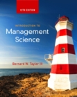 Image for Introduction to management science