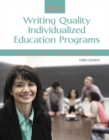 Image for IEPs  : writing quality individualized education programs
