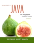 Image for Starting out with Java  : from control structures through data structures
