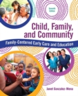 Image for Child, family, and community  : family-centered early care and education