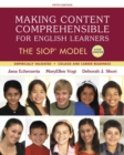 Image for Making content comprehensible for English learners  : the SIOP model