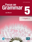 Image for NEW EDITION FOCUS ON GRAMMAR 5 WITH MYEN