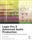 Image for Logic Pro X advanced music production