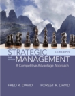 Image for Strategic management  : concepts