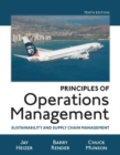 Image for Principles of operations management  : sustainability and supply chain management