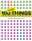 Image for 100 more things every designer needs to know about people