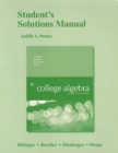 Image for Student's Solutions Manual for College Algebra : Graphs and Models