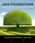 Image for Java foundations  : introduction to program design and data structures