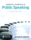 Image for Essential elements of public speaking
