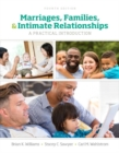 Image for Marriages, families, and intimate relationships