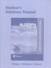 Image for Student's Solutions Manual for Elementary Algebra : Concepts and Applications