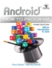 Image for Android  : with an introduction to Java