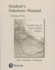 Image for Student solutions manual for introductory and intermediate algebra