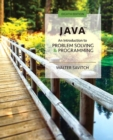 Image for Java : An Introduction to Problem Solving and Programming