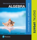 Image for Elementary and intermediate algebra  : concepts & applications
