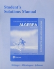 Image for Student's Solutions Manual for Elementary and Intermediate Algebra : Concepts and Applications