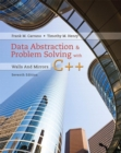 Image for Data abstraction and problem solving with C++  : walls and mirrors