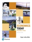 Image for Economics today  : the micro view