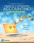Image for Horngren's financial & managerial accounting: The managerial chapters