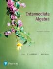Image for Intermediate algebra