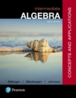 Image for Intermediate algebra  : concepts & applications