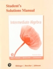 Image for Student's solutions manual for intermediate algebra